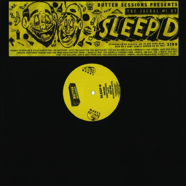 SLEEP D - The Jackel EP : 12inch