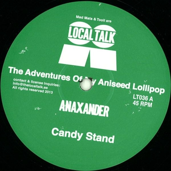 ANAXANDER - The Adventures Of My Aniseed Lollipop : 12inch