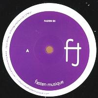 GABRIELE CARASCO - Dark Shades EP : FASTEN MUSIQUE (JPN)