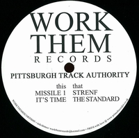PITTSBURGH TRACK AUTHORITY - Haywire EP : 12inch
