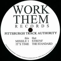 PITTSBURGH TRACK AUTHORITY - Haywire EP : WORK THEM (UK)