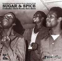 VARIOUS - Sugar & Spice  - 14 Studio1 Rock Steady Sure Shots : LP
