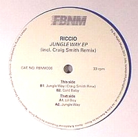 RICCIO - Jungle Way EP : 12inch