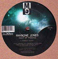 RAYBONE JONES - Right Of Passage : 12inch