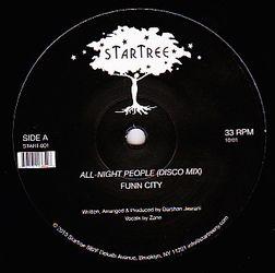 FUNN CITY - All Night People : STARTREE (US)