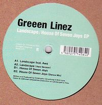 GREEEN LINEZ - Landscape / House Of Seven Joys EP : Catune (JPN)