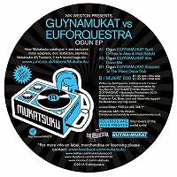 NIK WESTON presents GUYNAMUKAT VS EUFORQUESTRA - Ogun EP : 12inch