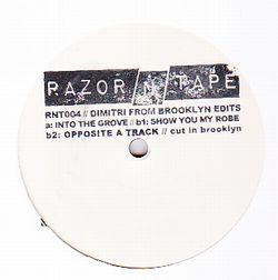 DIMITRI FROM BROOKLYN - Dimitri From Brooklyn Edits : RAZOR N TAPE (US)