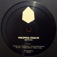 ELITECHNIQUE / PHILIPPOS.N - Love Triangle / Stealth (Bottin Remixes) : 12inch