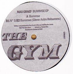 MAX GRAEF - Bummse EP : THE GYM (GER)
