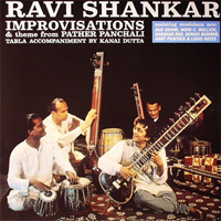 RAVI SHANKAR - Improvisations : LP