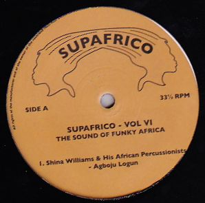 Various - Supafrico 6 - The Sound of Funky Africa : 12inch
