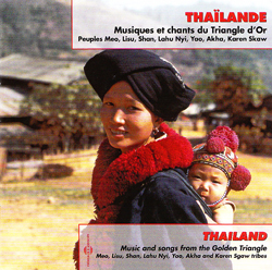 VARIOUS - FRANCOIS JOUFFA - Thailand - Musiques Et Chants Du Triangle D'Or : 2CD