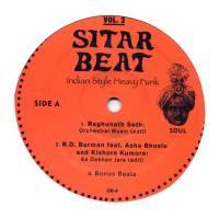 VA - Sitar Beat Vol. 2 : GUERILLA REISSUES (US)