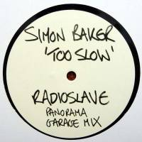 SIMON BAKER - Too Slow (Radio Slave Panorama Garage Mix) : 20:20 VISION (UK)