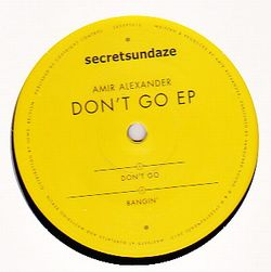 AMIR ALEXANDER - Don't Go EP : SECRETSUNDAZE (UK)