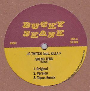 JD TWITCH FEAT. KILLA P & CASSIO O - Skeng Teng/Rockers : 12inch