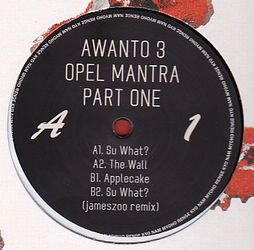AWANTO 3 - Opel Mantra Pt.1/3 : 12inch