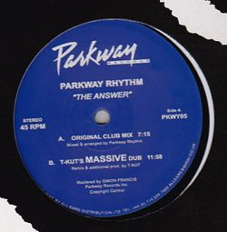PARKWAY RHYTHM - The Answer : PARKWAY (UK)