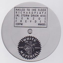 DJ RICHARD - Nailed To The Floor : 12inch