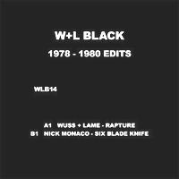VARIOUS ARTISTS - 1978 – 1980 Edits : W+L BLACK <wbr>(US)