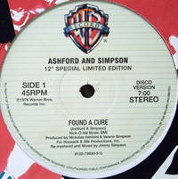 ASHFORD & SIMPSON - Found A Cure / Stay Free : RHINO/WARNER BROS. (UK)