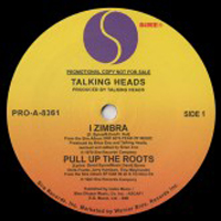 TALKING HEADS - I Zimbra / Burning Down The House : 12inch