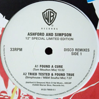 ASHFORD & SIMPSON - Found A Cure (remix) / Tried Tested & Found True (remix) : 12inch