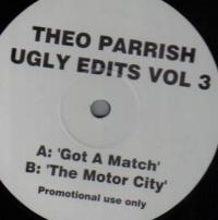 THEO PARRISH - Ugly Edits Vol. 3 : 12inch