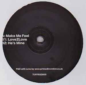 LNTG - Make Me Feel EP : TUFF CUT <wbr>(UK)