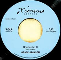 GRACE JACKSON / UNDERGROUND VEGETABLES - Gonna Get U / Melting Pot : 7inch