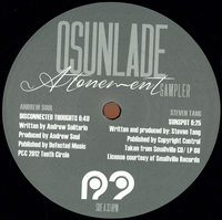 "OSUNLADE - Atonement (12"" Sampler) : R2 (UK)"