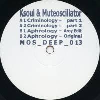 KSOUL & MUTEOSCILLATOR - Criminology : 12inch