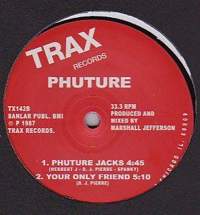 PHUTURE - Acid Tracks : 12inch
