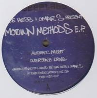 LUKE HESS & OMAR-S - Motown Methods EP : DEEPLABS (US)