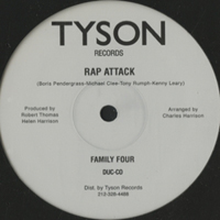 FAMILY FOUR - Rap Attack : 12inch