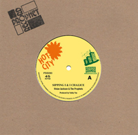 VIVIAN JACKSON & THE PROPHETS - Sipping I & I Chalice /  I & I Chalice version : 7inch