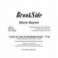 GLORIA GAYNOR / HEAVEN & HELL ORCHESTRA - Love Is Just A Heartbeat Away / Heartbeat : 12inch