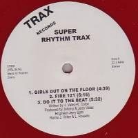 JESSE VELEZ - Super Rhythm Trax : TRAX (UK)