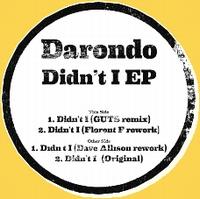 DARONDO - Didn't I Edits EP : UBIQUITY (US)