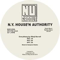 NY HOUSE 'N AUTHORITY - APT : NU GROOVE (US)