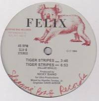 FELIX - Tiger Stripes : SLEEPING BAG (US)