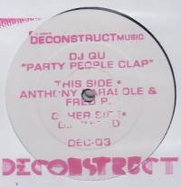 DJ QU - Party People Clap : 2x12inch