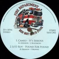 VARIOUS - Fire Department Vol 2 - Blazin' Hot Disco Funk & Boogie : 12inch