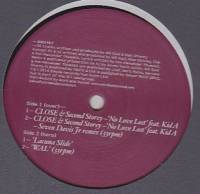 CLOSE & SECOND STOREY - No Love Lost(Seven Davis Jr Rmx) : 12inch