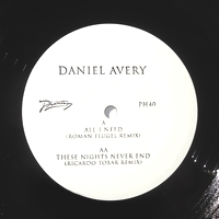 DANIEL AVERY - All I Need (Roman Flugel) / These Nights Never End (Ricardo tobar remix) : 12inch