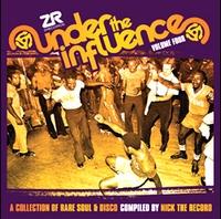 VARIOUS - NICK THE RECORD - Under The Influence Vol. 4 : 2LP