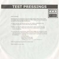 DEMDIKE STARE - Testpressing #006 : 12inch