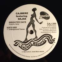 CAJMERE featuring DAJAE / CAJMERE featuring DERRICK CARTER - Brighter Days / Dreaming EP : 12inch