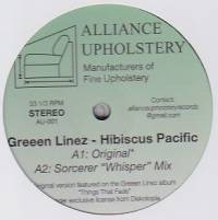 GREEEN LINEZ - Hibiscus Pacific : ALLIANCE UPHOLSTERY (uS)
